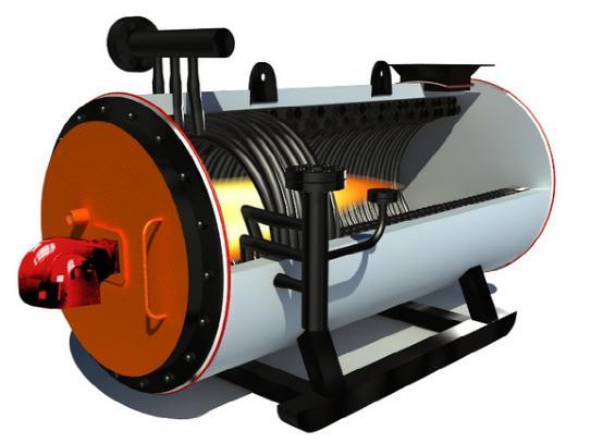 燃气导热油炉/卧式